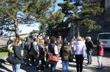 Tanulmányi kiránduláson a harmadéves turizmus-vendéglátás szakos hallgatók