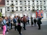 Városnézés bemutató óra a miskolci belvárosban